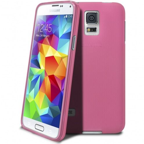 Coque Samsung Galaxy S5 Frozen Ice Extra Fine Rose