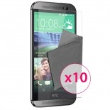 Zoom sur Films de protection HTC One M8 Clubcase ® HD Lot de 10