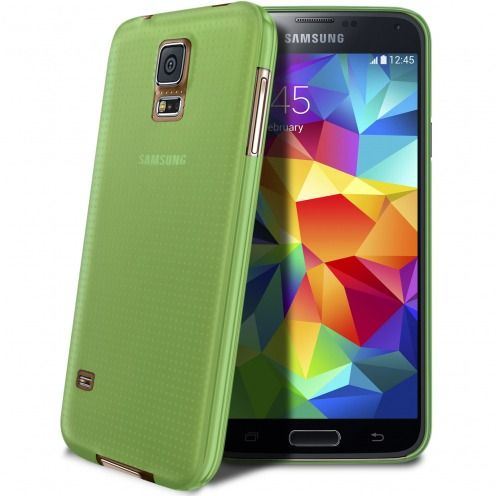 Coque Ultra Fine 0.3mm Frost Samsung Galaxy S5 verte