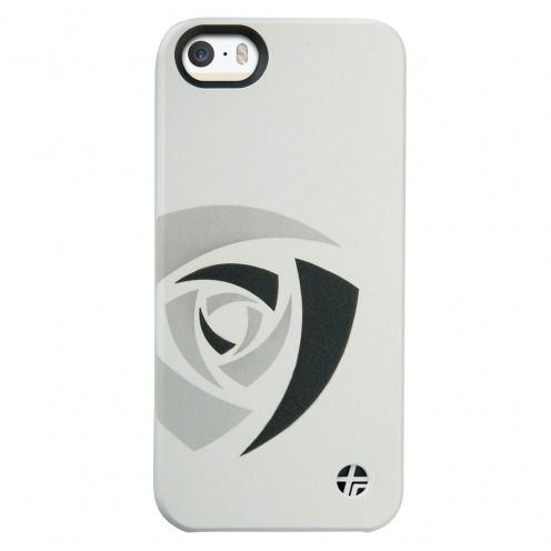 Coque cuir gravé véritable Trexta® Rose Series Blanche iPhone 5 / 5S / SE