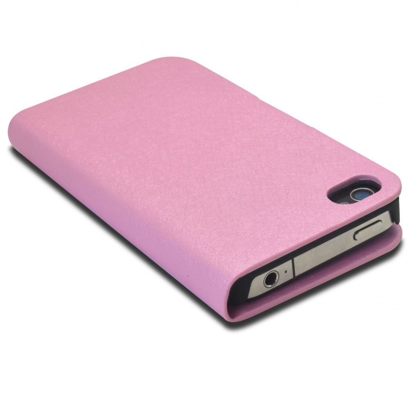 Visuel unique de Smart Cover iPhone 4/4S Papyrus Rose