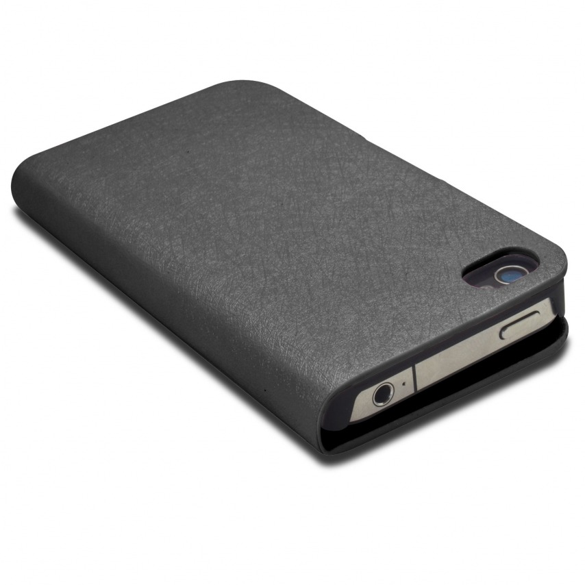 Visuel unique de Smart Cover iPhone 4/4S Papyrus Noire