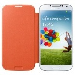 Zoom sur Samsung Galaxy S4 Flip Cover origine Orange