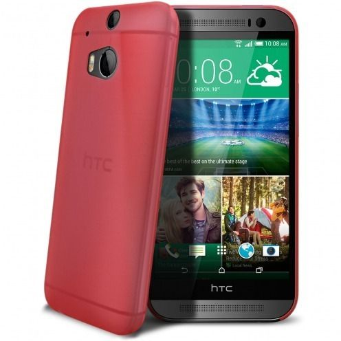 Coque Ultra Fine 0.3mm Frost HTC One M8 Fuchsia