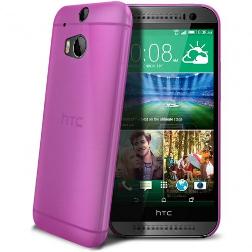 Coque Ultra Fine 0.3mm Frost HTC One M8 Rose
