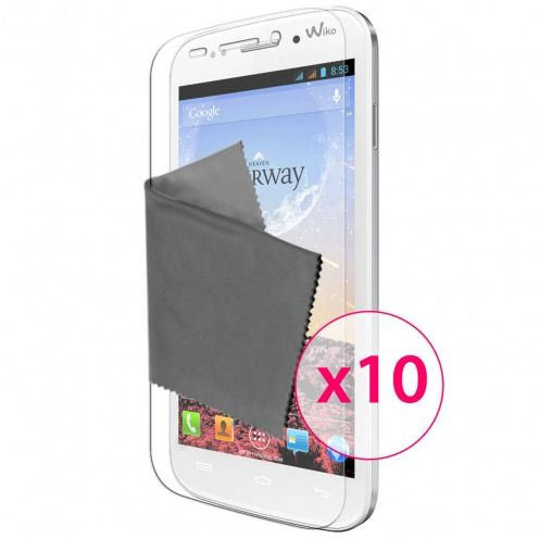 Films de protection Wiko Stairway Clubcase ® HD Lot de 10