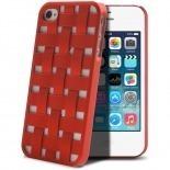 Visuel unique de Coque iPhone 4/4S X-Doria Engage Form Tressé Rouge