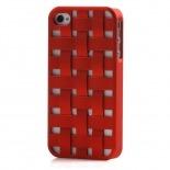 Visuel supplémentaire de Coque iPhone 4/4S X-Doria Engage Form Tressé Rouge