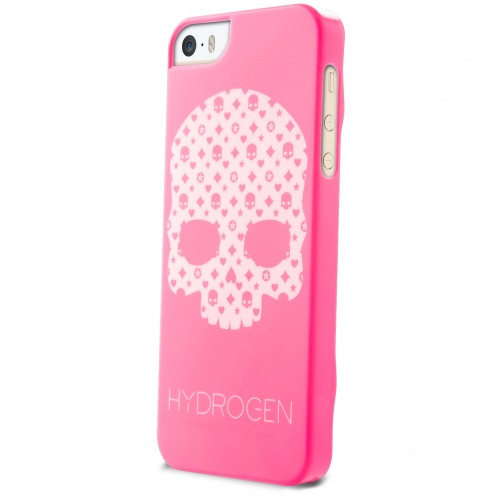 Coque iPhone 5/5S/SE Hydrogen LV Skull Rose Phosphorescente