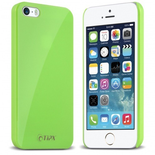 Coque Tipx® Hisoxio Collection Vert pour iPhone 5 - 5S