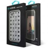 Vue complémentaire de Coque iPhone 4/4S X-Doria Engage Form Tressé Alu