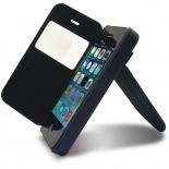 Visuel unique de Coque Folio iPhone 4 / 4S Jeans Pocket Stand Rose