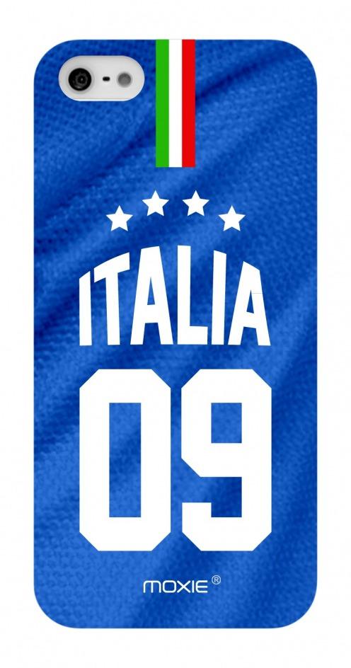 Zoom sur Coque iPhone 5S / 5 Edition Limitée Copa Do Mundo Italie 2014