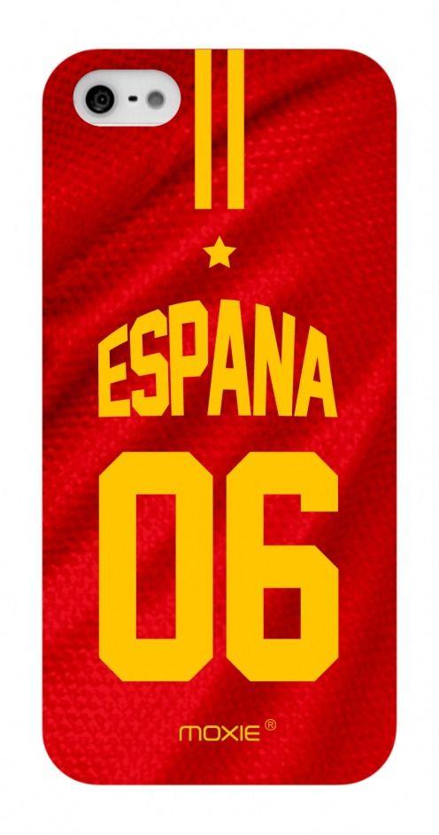Zoom sur Coque iPhone 5S / 5 Edition Limitée Copa Do Mundo Espagne 2014