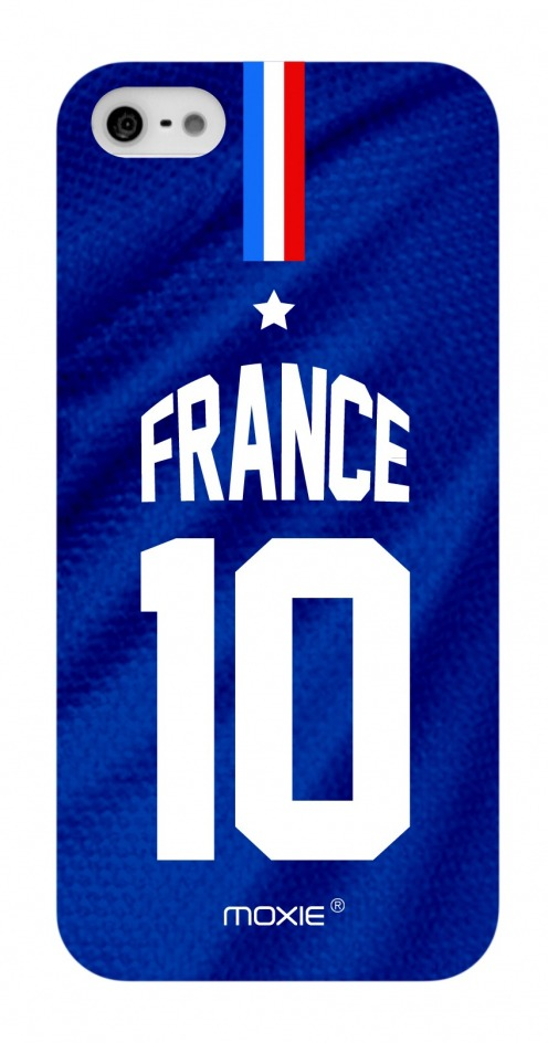 Zoom sur Coque iPhone 5S / 5 Edition Limitée Copa Do Mundo France 2014