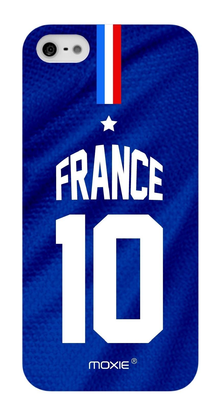 Zoom sur Coque iPhone 5S / 5 Edition Limitée Copa Do Mundo France 2014