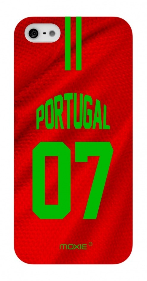 Coque iPhone 5S / 5 Edition Limitée Copa Do Mundo Portugal 2014