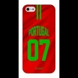 Zoom sur Coque iPhone 5S / 5 Edition Limitée Copa Do Mundo Portugal 2014