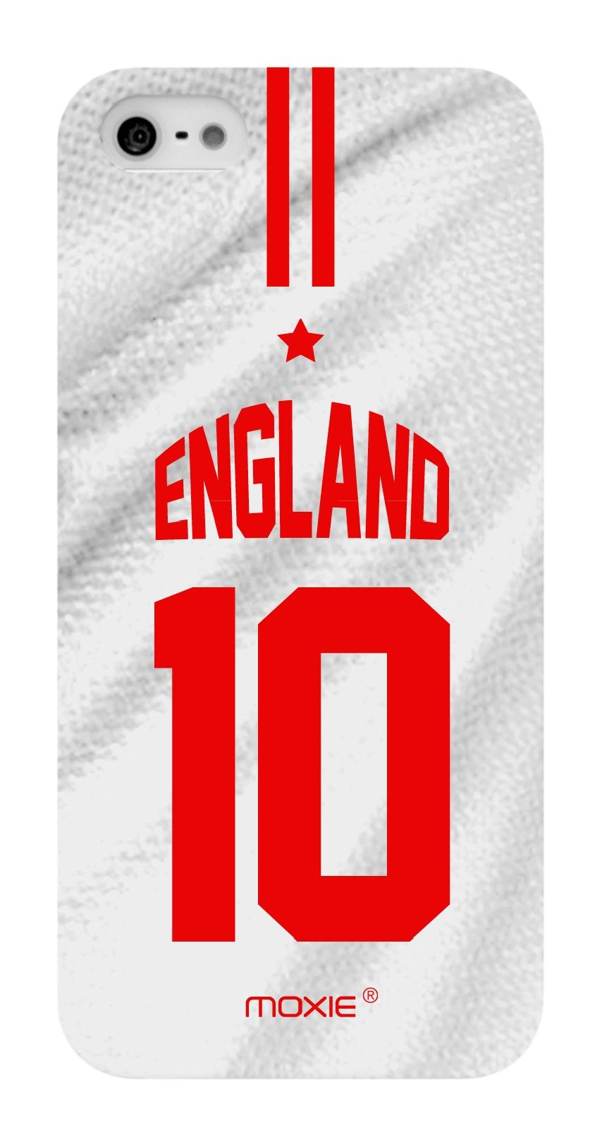 Zoom sur Coque iPhone 5S / 5 Edition Limitée Copa Do Mundo Angleterre 2014