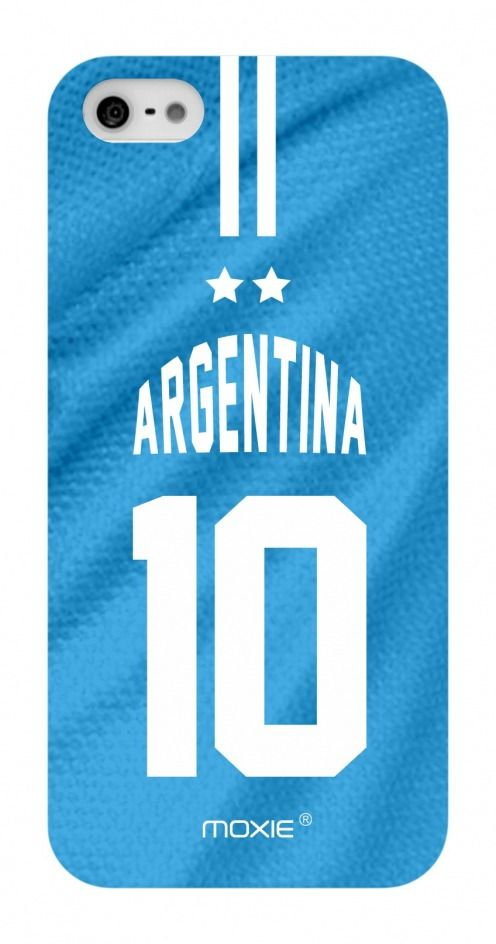 Zoom sur Coque iPhone 5S / 5 Edition Limitée Copa Do Mundo Argentine 2014