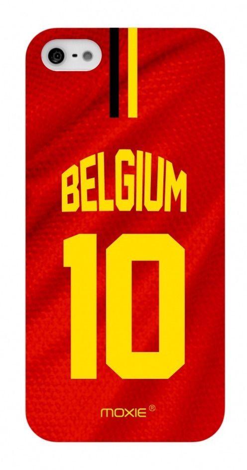 Zoom sur Coque iPhone 5S / 5 Edition Limitée Copa Do Mundo Belgique 2014