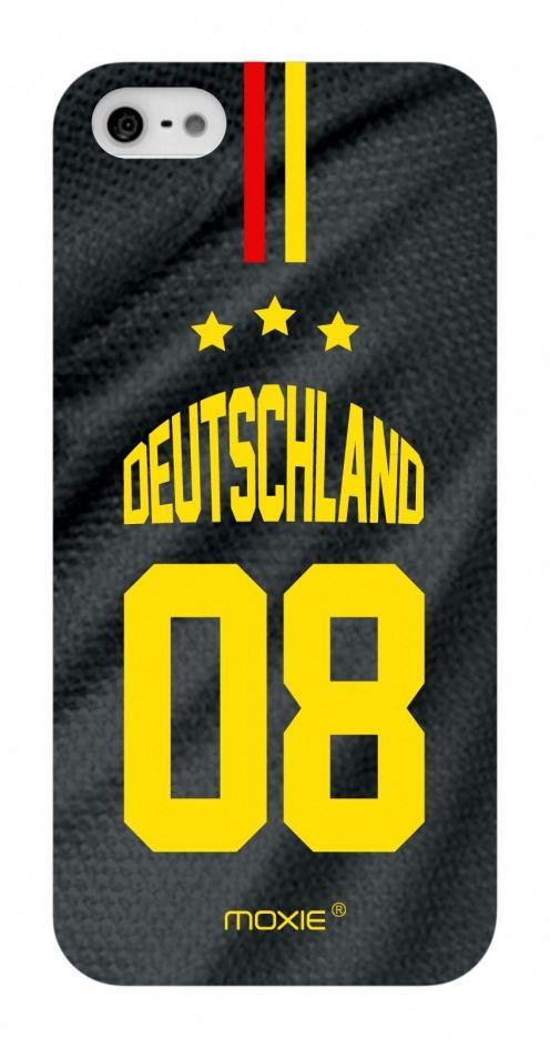 Vue détaillée de Coque iPhone 4S / 4 Edition Limitée Copa Do Mundo Allemagne 2014