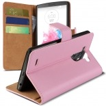 Visuel unique de Housse Folio Stand LG G3 Cuir Eco Executive Rose