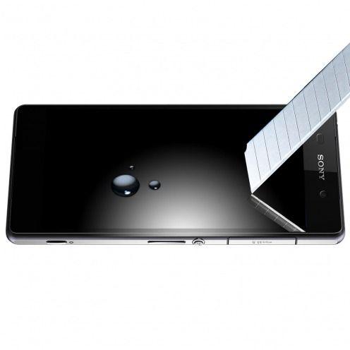Protection d'écran Verre trempé Sony Xperia Z2 OTAO Premium 9H X-Lambo 0.33 2.5D