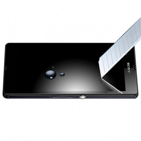 Visuel supplémentaire de Protection d'écran Verre trempé Sony Xperia Z OTAO Premium 9H X-Lambo 0.33 2.5D