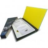Vue complémentaire de Protection d'écran Verre trempé Sony Xperia Z OTAO Premium 9H X-Lambo 0.33 2.5D
