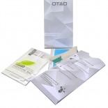 Vue portée de Protection d'écran Verre trempé Sony Xperia Z OTAO Premium 9H X-Lambo 0.33 2.5D