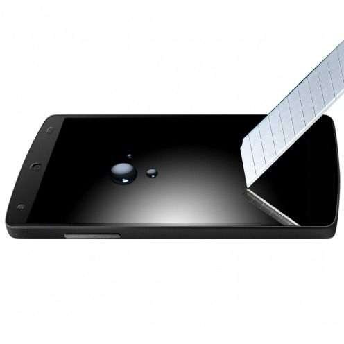 Protection d'écran Verre trempé LG Nexus 5 OTAO Premium 9H X-Lambo 0.33 2.5D