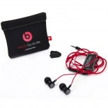 Photo réelle de Ecouteurs / Kit Piéton In Ear Beats Audio® Urbeats By Dre Noir/Argent/Rouge
