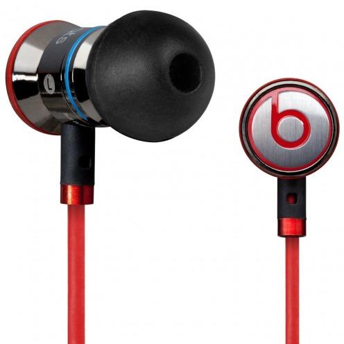 Ecouteurs / Kit Piéton In Ear Beats Audio® ibeats By Dre Noir/Argent/Rouge