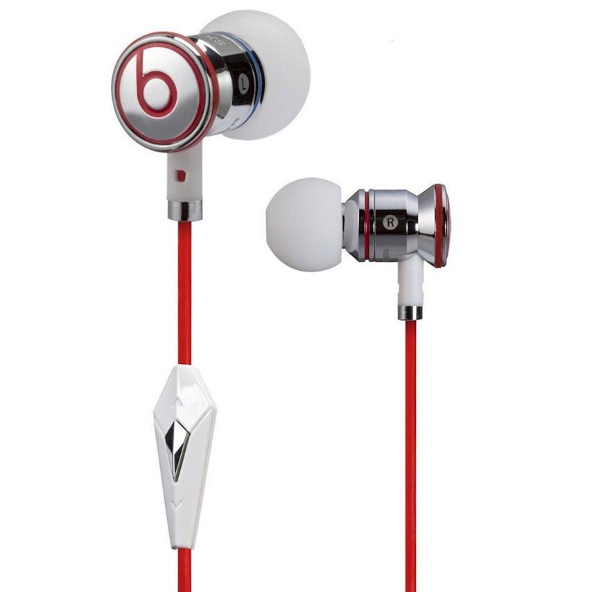 Visuel supplémentaire de Ecouteurs / Kit Piéton In Ear Beats Audio® ibeats By Dre Blanc/Argent/Rouge