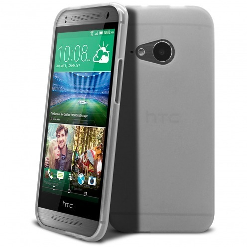 Coque HTC One Mini 2 Frozen Ice Extra Fine Blanche