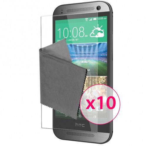 Films de protection HTC One Mini 2 Clubcase ® Clear HD Lot de 10