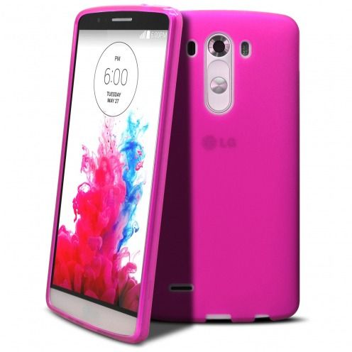 Coque LG G3 Frozen Ice Extra Fine Rose