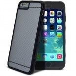 Vue complémentaire de Coque Intégrale iPhone 6 X-Doria® Defense 720° transparente / noir
