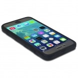 Visuel unique de Coque Intégrale iPhone 6 X-Doria® Defense 720° transparente / noir