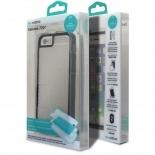 Visuel supplémentaire de Coque Intégrale iPhone 6 X-Doria® Defense 720° transparente / noir