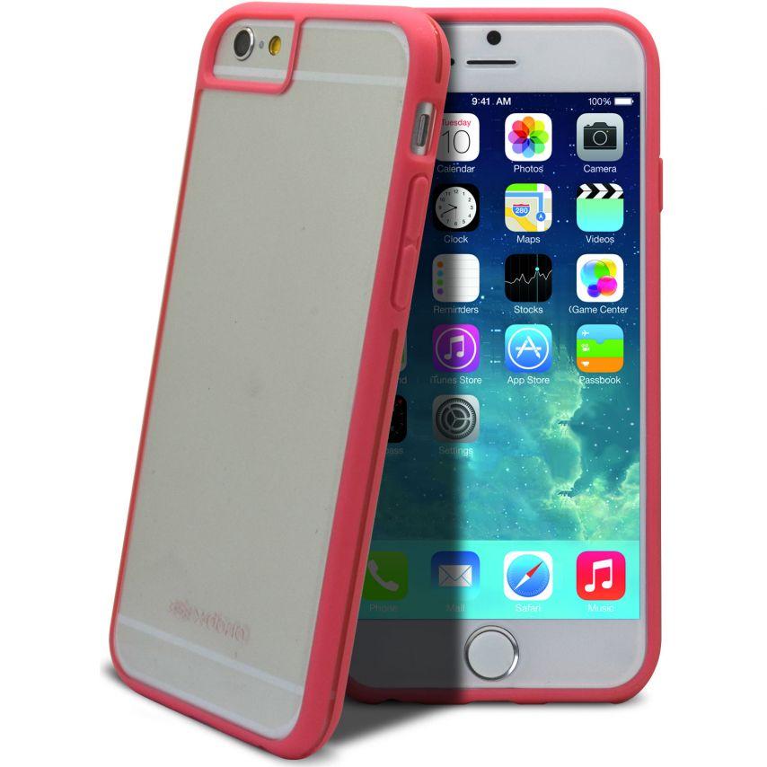 Vue complémentaire de Coque iPhone 6 X-Doria® Scene Crystal Bi-Matière Rose