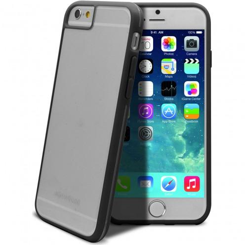 Vue complémentaire de Coque iPhone 6 X-Doria® Scene Crystal Bi-Matière Noir