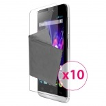 Zoom sur Films de protection Wiko Wax Clubcase ® Clear HD Lot de 10
