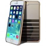Photo réelle de Coque iPhone 6 X-Doria® Engage Plus Crystal Chrome Or