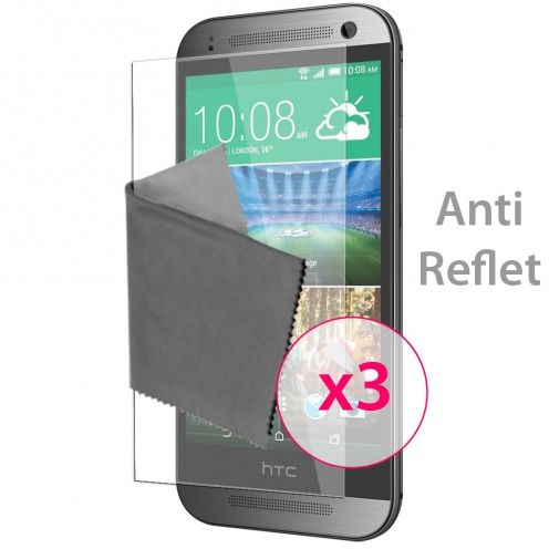 Zoom sur Films de protection Anti-Reflet HTC One mini2 Clubcase ® Lot de 3