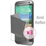 Zoom sur Films de protection Anti-Reflet HTC One mini2 Clubcase ® Lot de 3