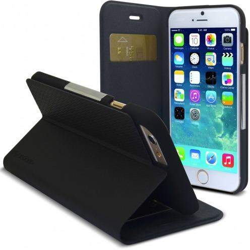 Photo réelle de Smart Dash Folio One X-Doria® Noire pour iPhone 6