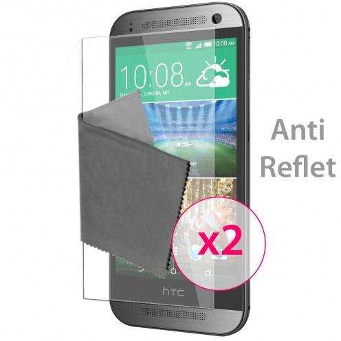 Films de protection Anti-Reflet HTC One mini2 Clubcase ® Lot de 2