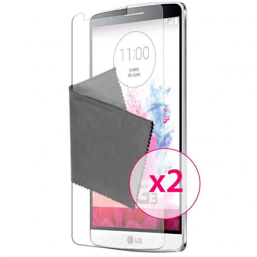 Zoom sur Films de protection Anti-Reflet LG G3 Clubcase ® Lot de 2